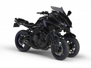 Yamaha au salon de Tokyo avec un 3 roues au coeur de MT-09