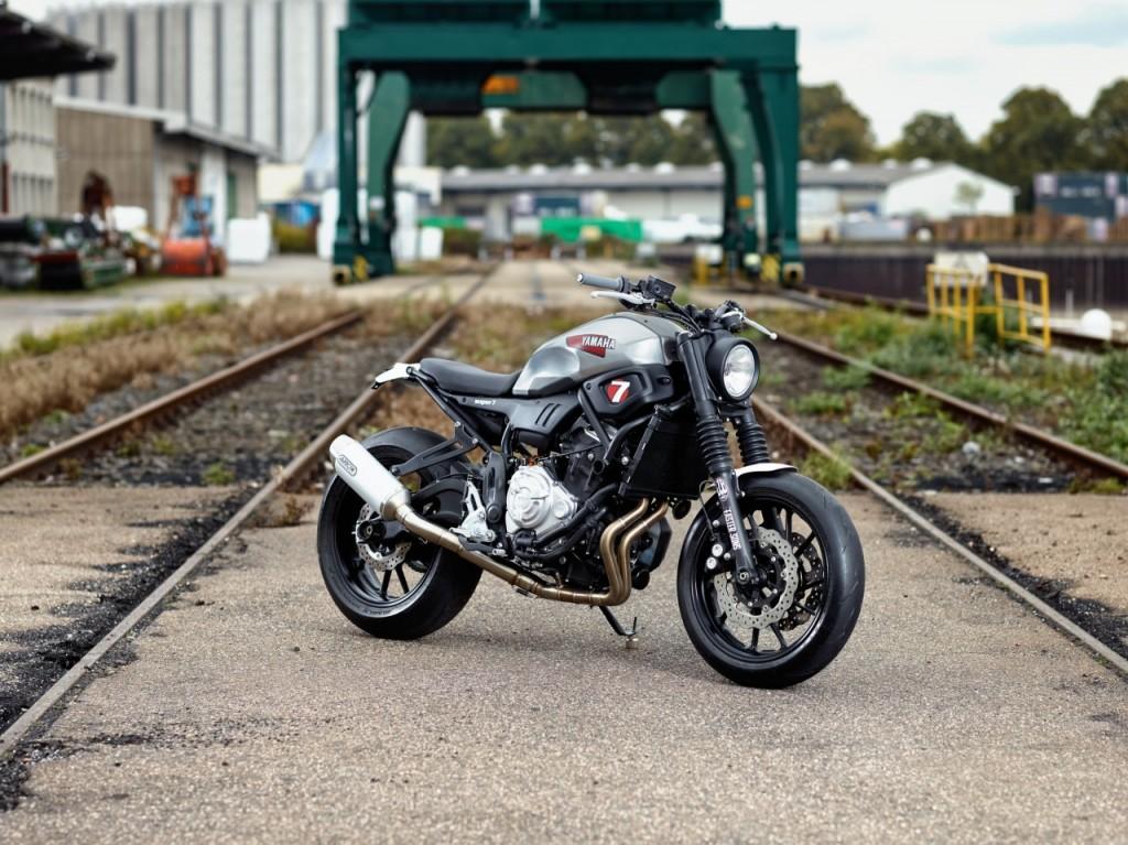 Une première Yard Built XSR700 Super 7 par JvB Moto