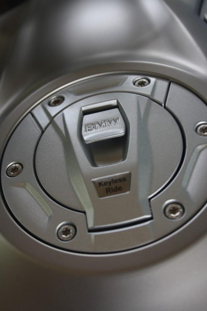 Keyless sur la trappe à essence