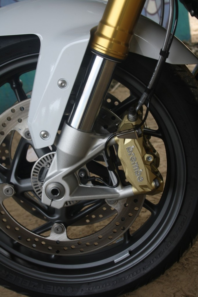 Freinage Brembo radial au top