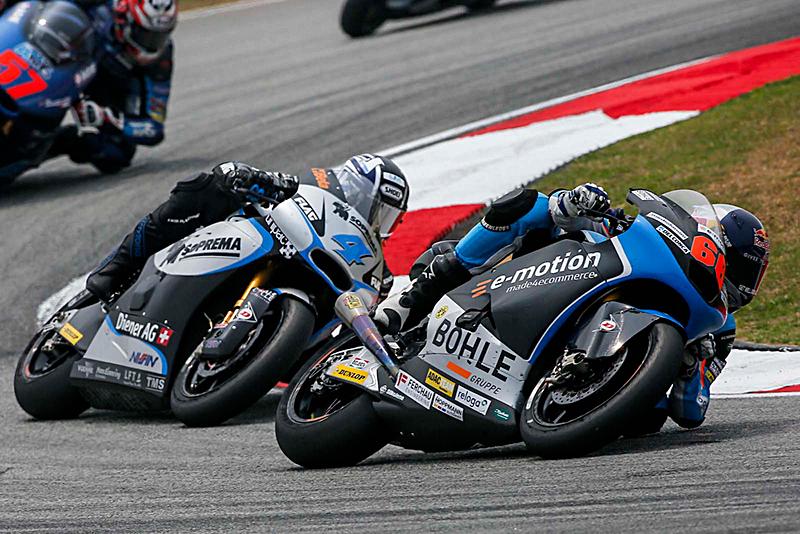 Moto2 – GP de Malaisie – Thomas Lüthi héroïque deuxième en Malaisie !