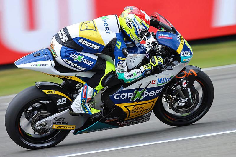 GP Moto 2  –  Dominique Aegerter va commencer sa réhabilitation