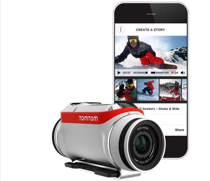 La caméra TomTom Bandit dans le dernier film Darklight