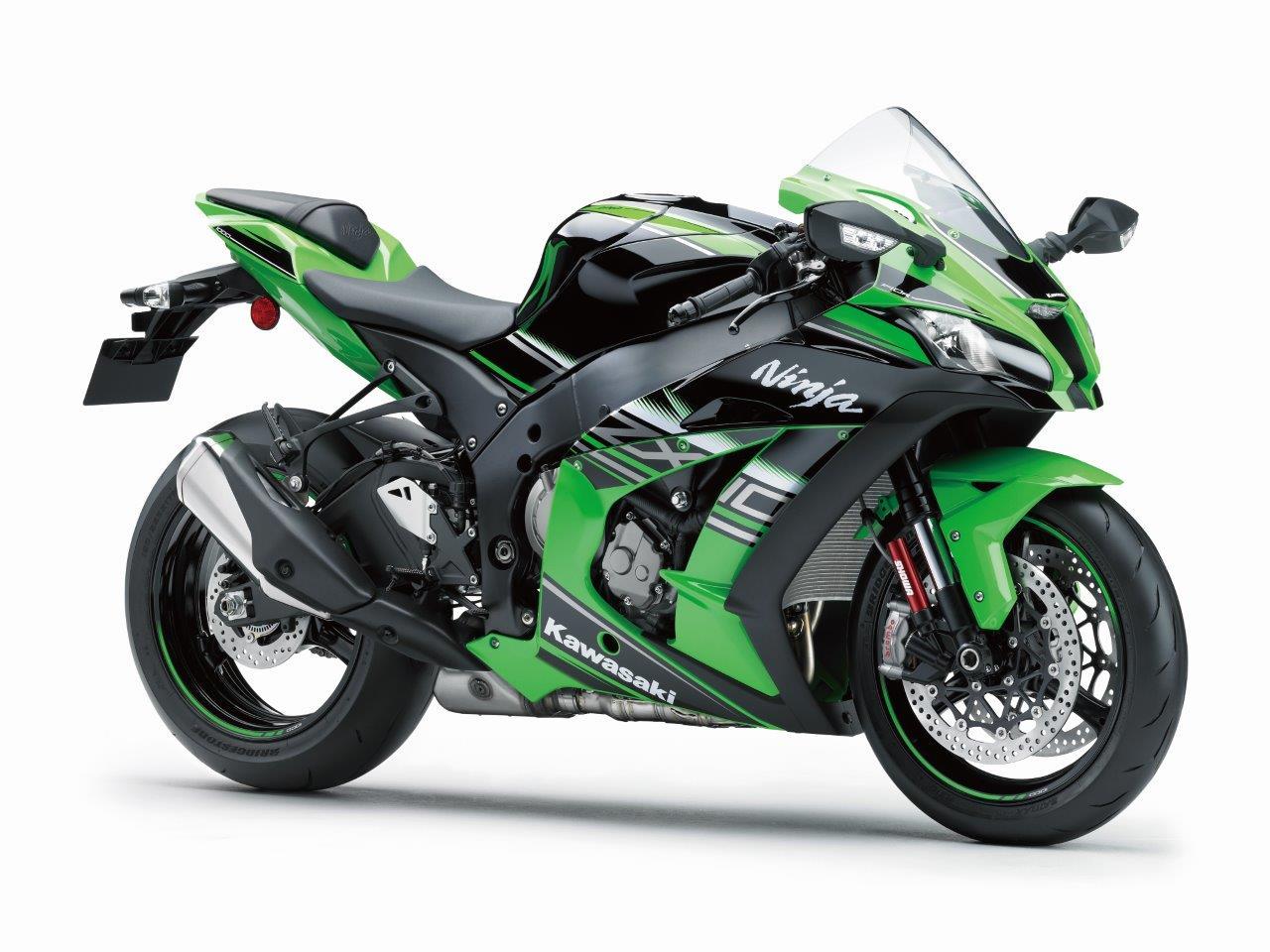 La Kawasaki ZX10R a son application