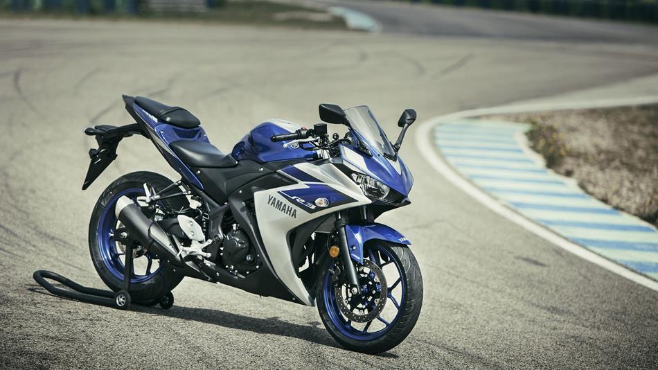 De l'avis unanime, la R3 est une belle moto.