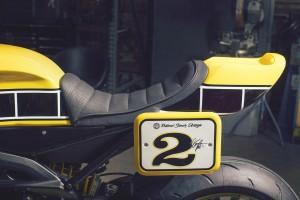 Les détails de la MT-09 façon Roland Sands