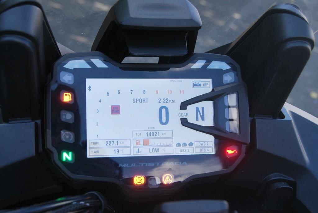 Ducati MTS 1200 S version 2015: Viaggiare presto e bene!