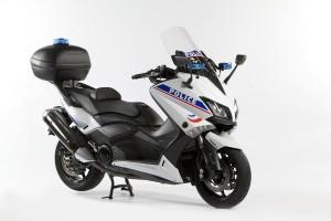 Des Yamaha version police et armée