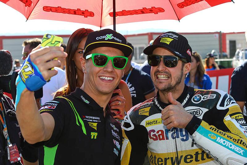Moto2 – GP de Valence – Thomas Lüthi a terminé en beauté !