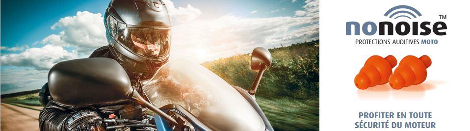 nonoise protection moto