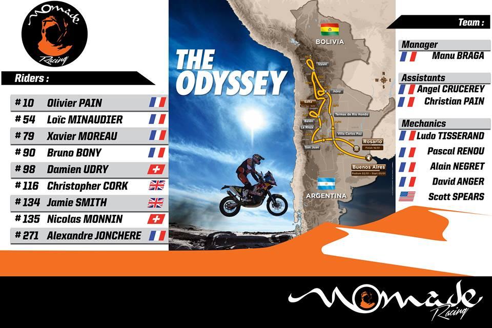 Deux Suisses dans la course du Dakar 2016