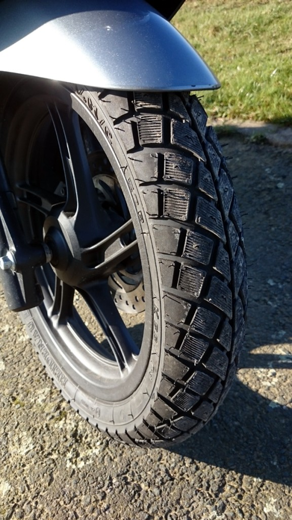 Les pneus hiver Heidenau: un vrai plus.