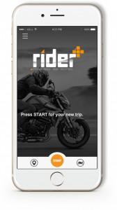 Application Rider + avec Moteo pour une bonne cause