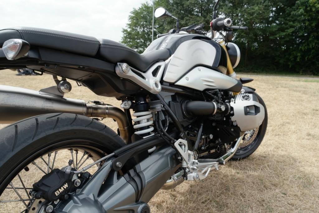 Bmw R 1200 Nine T , l'héritage façon BMW