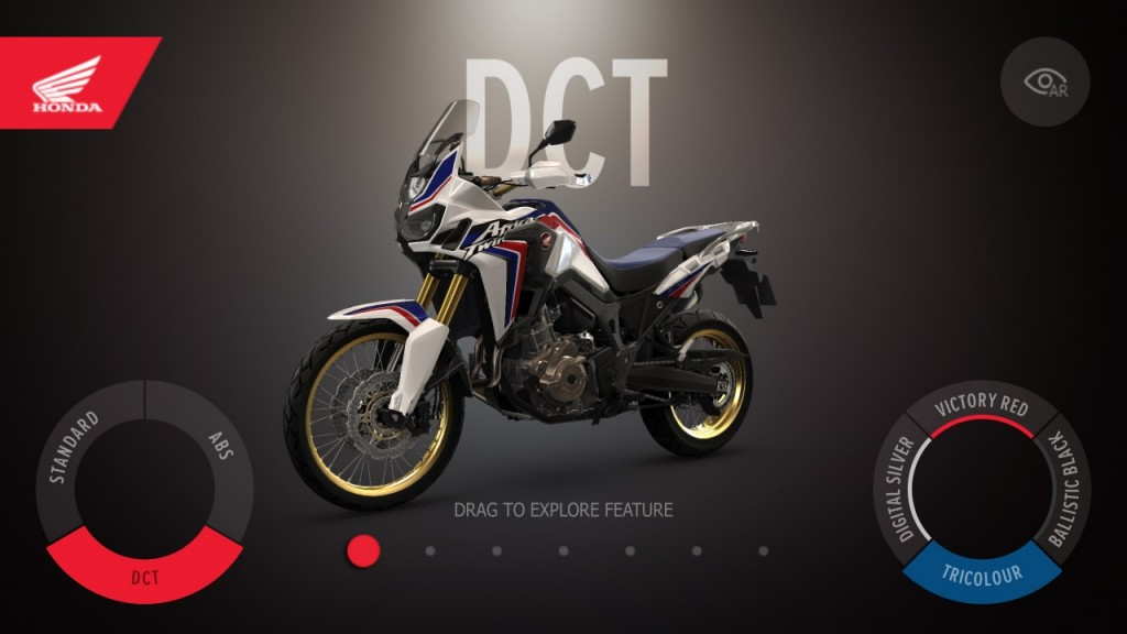 L'Africa Twin a son application