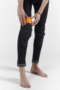 Bowtex Black Knee