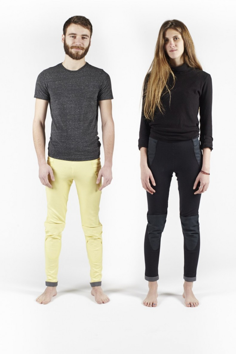Bowtex Black Yellow Front