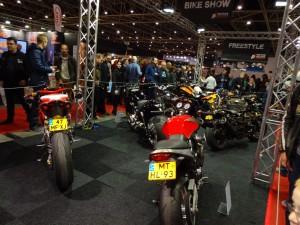 des motos tunées