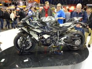 la Kawasaki H2 toujours aussi admirée