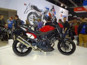 la Suzuki SV650