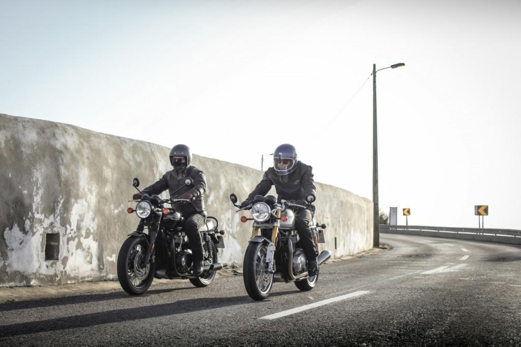 Les nouvelles Triumph Thruxton et Thruxton R