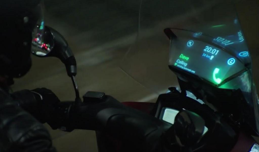 Samsung et Yamaha développent un pare brise intelligent