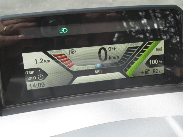 BMW C EVolution, Green Power.