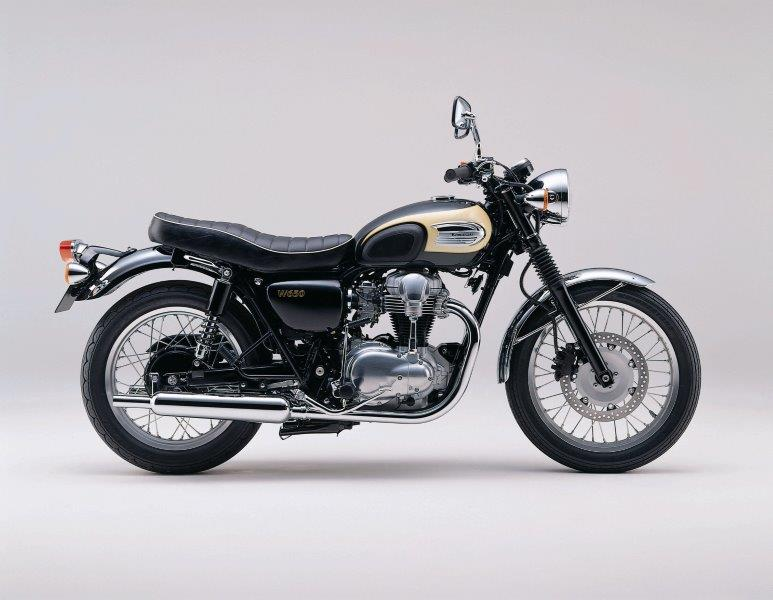 La Kawasaki W800 Final Edition