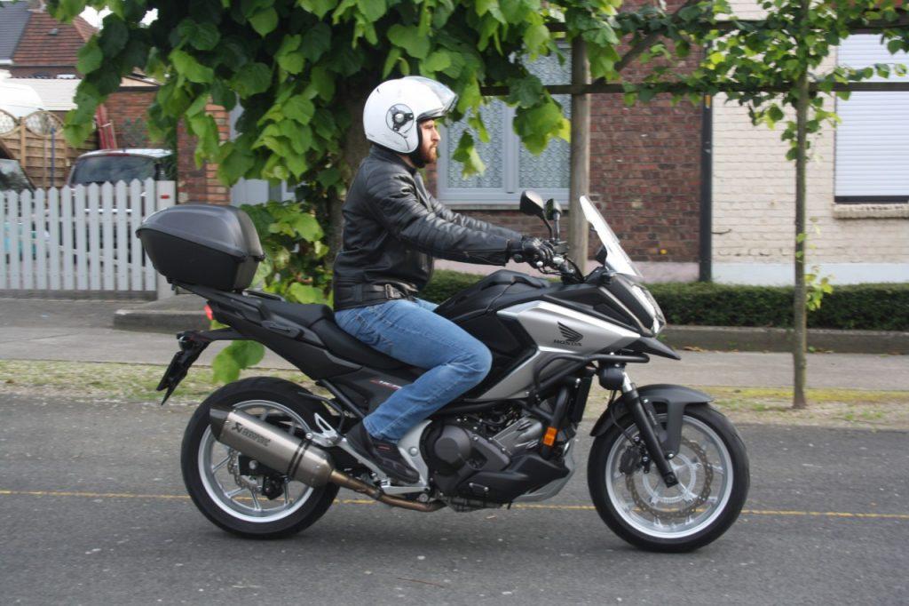 Honda NC750X DCT 2016, Automatique sympathique!