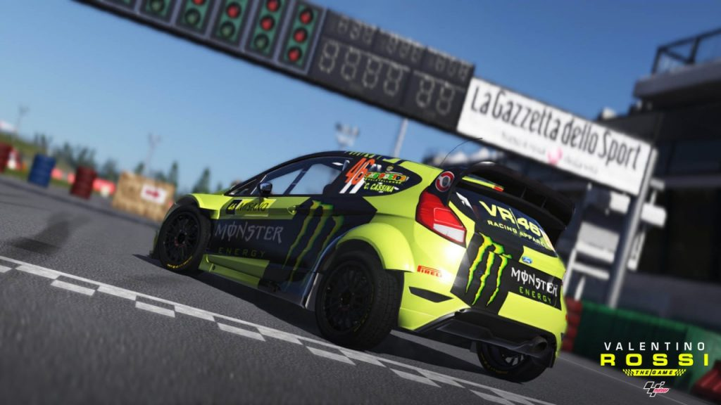 Invitez-vous au Monza Rally Show dans le sillage du Doctor.