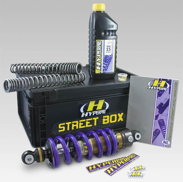 StreetBox Hyperpro sur une hypersportive
