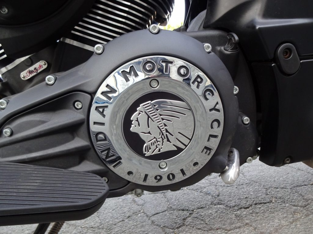 Indian Chief Darkhorse le côté obscur façon Indian