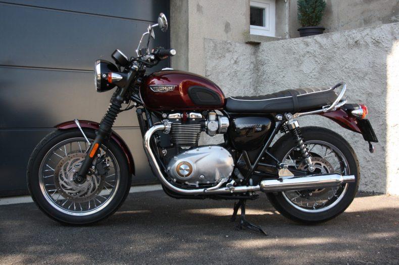 Triumph Bonneville T120 Objectif Moto