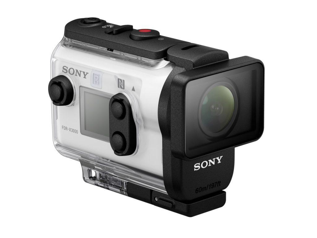 Sony suit le pas avec une nouvelle caméra 4K, la FDR-X3000R