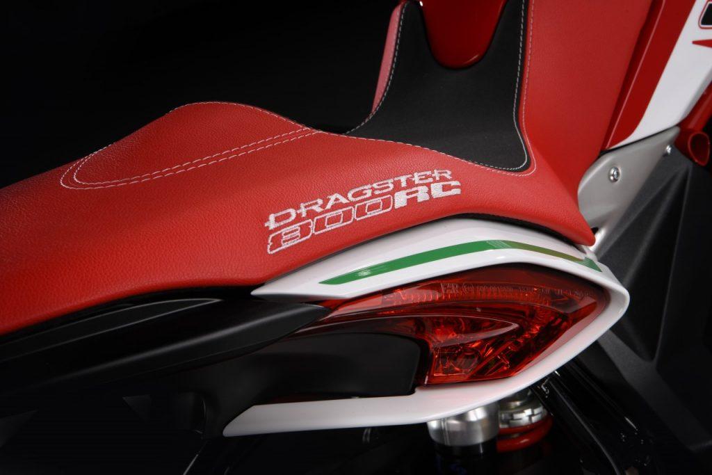 MV Agusta présente le Dragster 800 RC