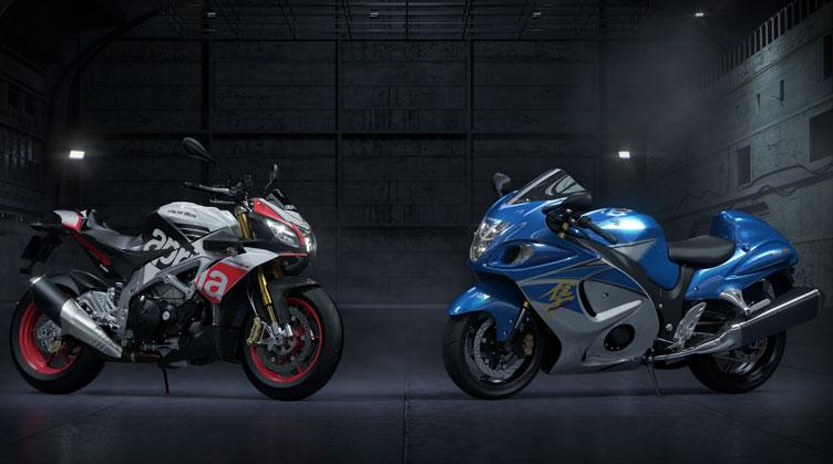 La modélisation des motos a nettement progressé