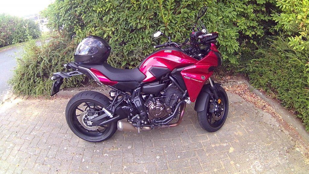 Yamaha MT-07 Tracer, elle a tout de la grande
