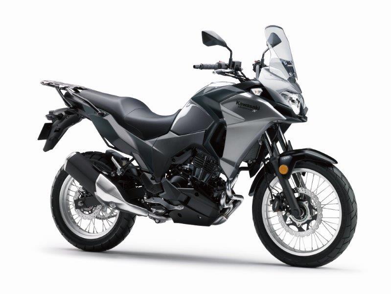 3 nouvelles Kawasaki à Milan, Z650, Z900 et Versys X 300