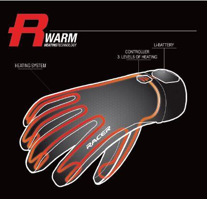 gardez vos mains prot g es et au chaud avec les gants racer objectif moto. Black Bedroom Furniture Sets. Home Design Ideas