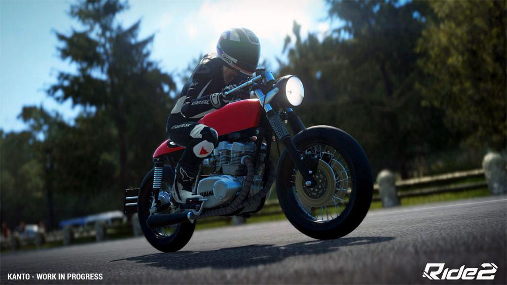 Ride 2 fait également la part belle à des motos rares