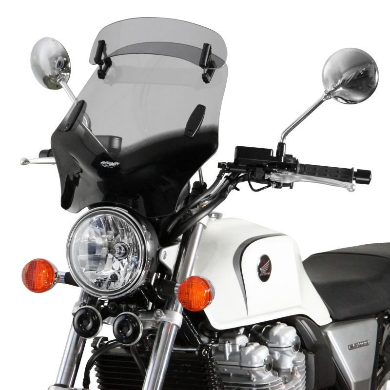 Le Vario-Touring s'exporte sur les pare-brise destiné aux naked bikes