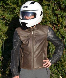 Blouson cuir Segura Lady Nova : le vintage revisité.