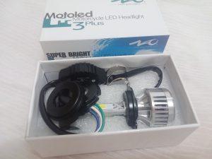 Dans le cas d'ampoules LED, l'élément refroidisseur arrière pose problème...