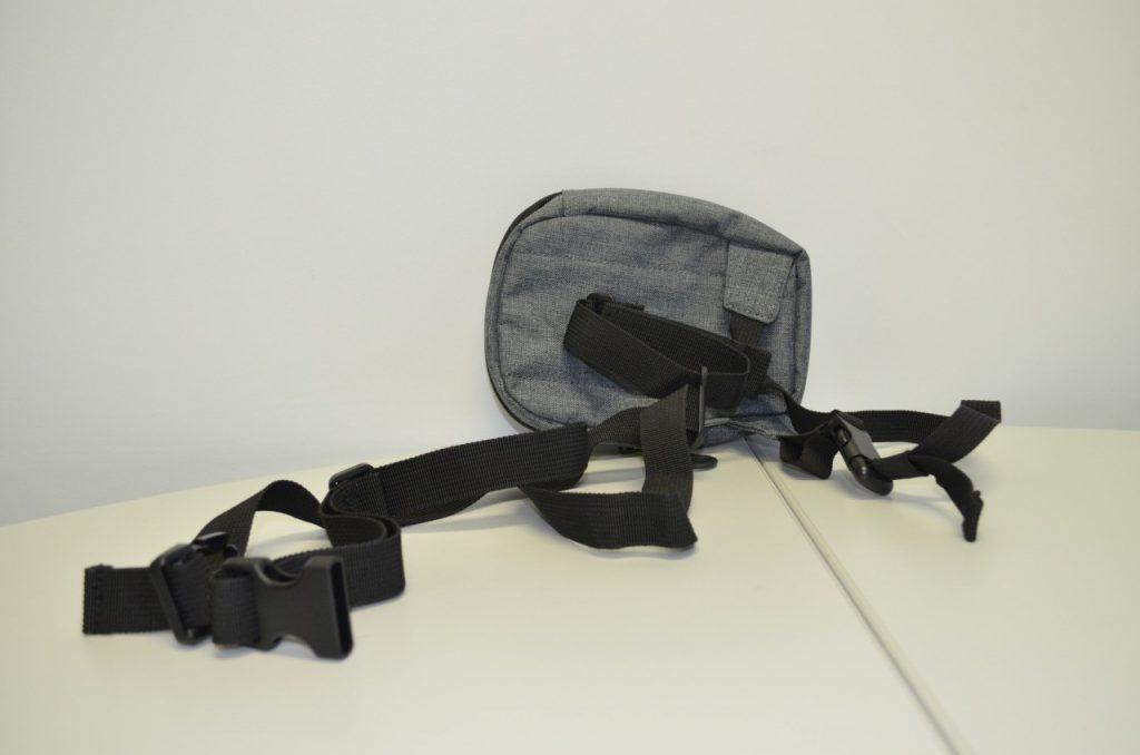 La Furygan Polar Fleece Evo et le sac de jambe Givi EA109