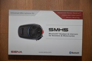 SENA SMH5 : intercom Bluetooth pour moto et scooter