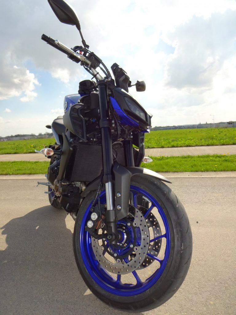 La nouvelle Yamaha MT-09 version 2017