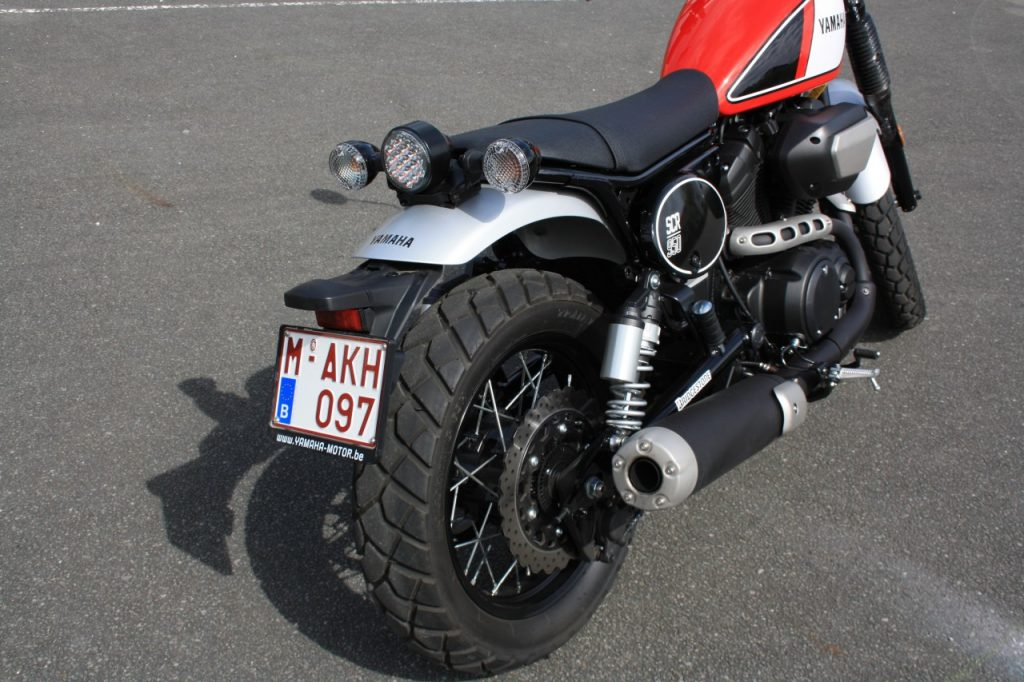 Yamaha SCR950, le bonheur est dans le pré.