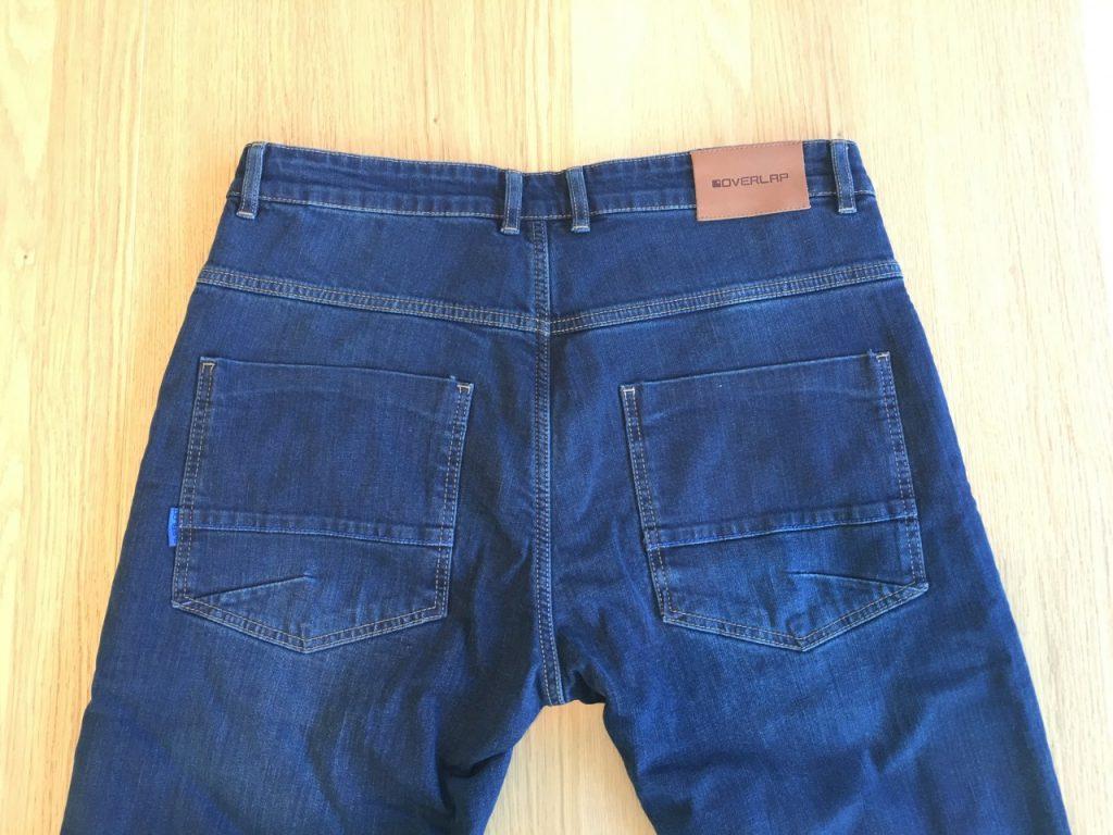 Jeans OVERLAP MANX DIRT : L'invisible bien concret !