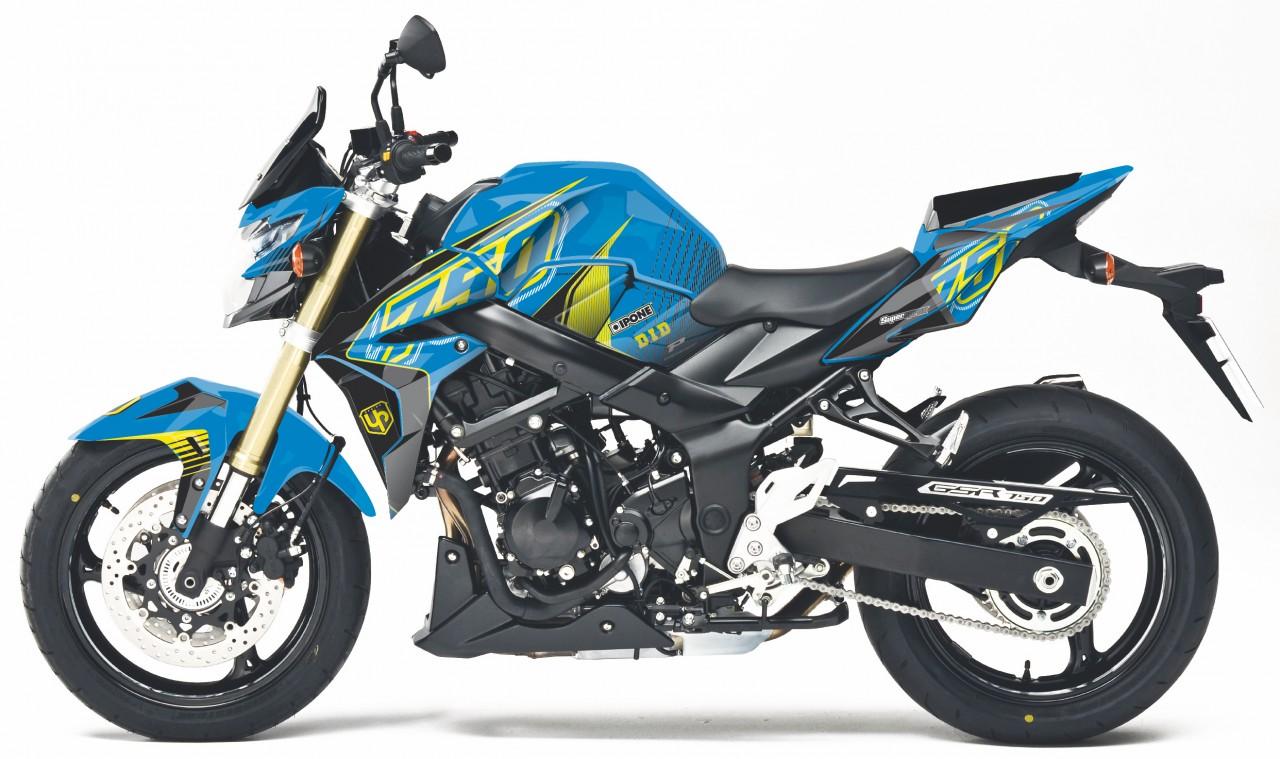 stickers kit d co chez up design pour vos roadsters objectif moto. Black Bedroom Furniture Sets. Home Design Ideas