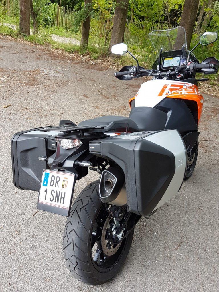 KTM1290 Super Adventure S, trail sous amphétamines.